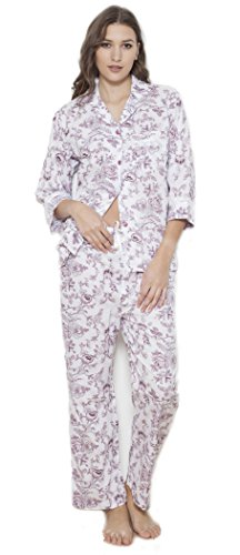 Cotton Real -  Pigiama due pezzi  - Donna