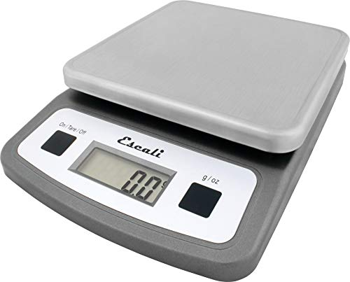San Jamar SCDG2LP Low-Profile Digital Food/Kitchen Scale, 2l