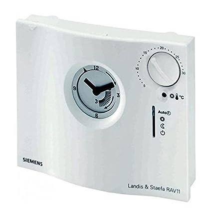Siemens - Termostato programable anlógico día RAV 11.1 - : RAV11.1