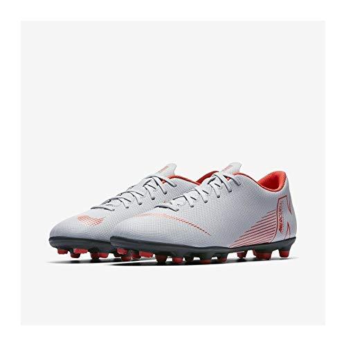 Adulto 001 Fg Multicolor Zapatillas Crimson black Grey Unisex Club lt wolf Vapor 12 Nike mg qt607a