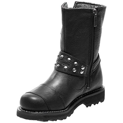 Harley-Davidson Womens Marmora Leather Boots Noir JgzbnYr