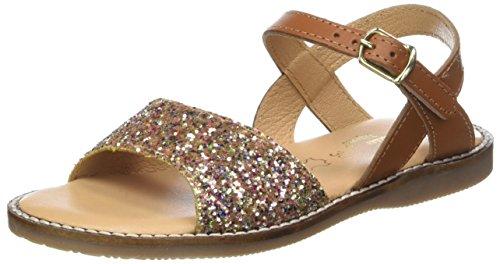 Cheville Bride Marron Tropezien 202 tan Glitter e Sandales Cr L'atelier Fille PpSwq