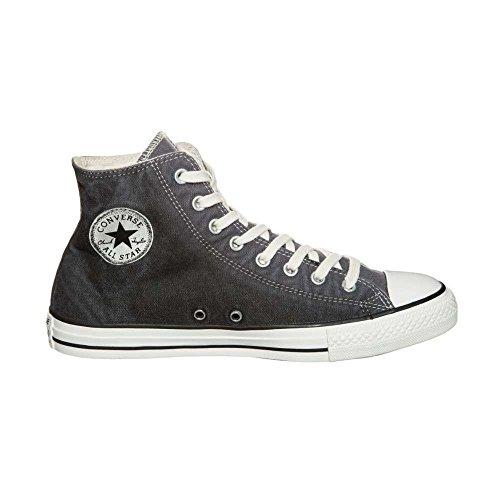 Converse Chuck - Zapatillas de Lona para hombre Negro Thunder - gris oscuro/blanco
