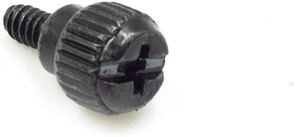 HONJIE 6#-32x6 M3.5 PC Computer Case Thumbscrews Thumb Screws Black Zinc-50PCS