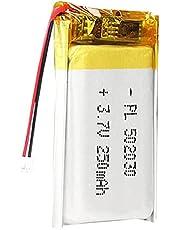 3.7V 250 MAH 502030 Lipo Batterij Oplaadbare Lithium Polymeer Ion Batterijpakket met JST-connector