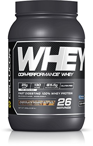 Cellucor Whey Protein Isolate Powder with BCAAs, Post Workout Recovery Drink, Gluten Free Low Carb Low Fat, Chocolate Peanut Butter, 26 Servings - Chocolate Peanut Butter Swirl
