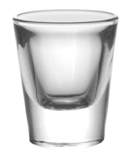 BarConic® 1 ounce Thick Base Clear Shot Glass (12 Pack)]()