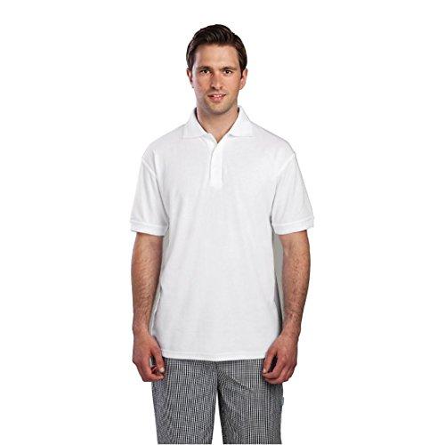 Poloshirt Weiss L