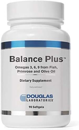 Douglas Laboratories - Balance Plus - Omega 3, 6, 9 from Fish, Primrose, and Olive Oil - 90 Softgels