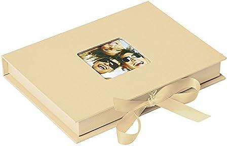 Walther Design FB-112-H caja de fotos Fun para 70 fotos en el formato 10 x 15 cm, crema: Amazon.es: Hogar