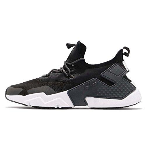 (Nike Men's Air Huarache Drift Running Shoe, Black/Black-Anthracite-White, 11.5)