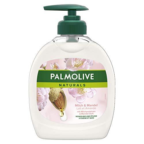 Palmolive Flüssigseife Naturals Milch & Mandel, 300 ml