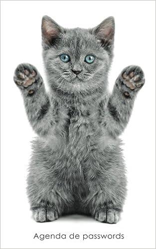Agenda de passwords: Agenda para endereços electrónicos e passwords - Capa gatinho brincalhão Agendas com gatos: Amazon.es: Coisas Realmente Úteis: Libros ...
