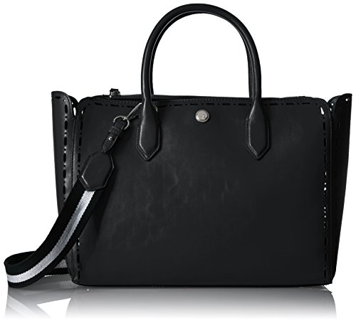 Nine West Sahara Tote, Black Silver/Black/Black White
