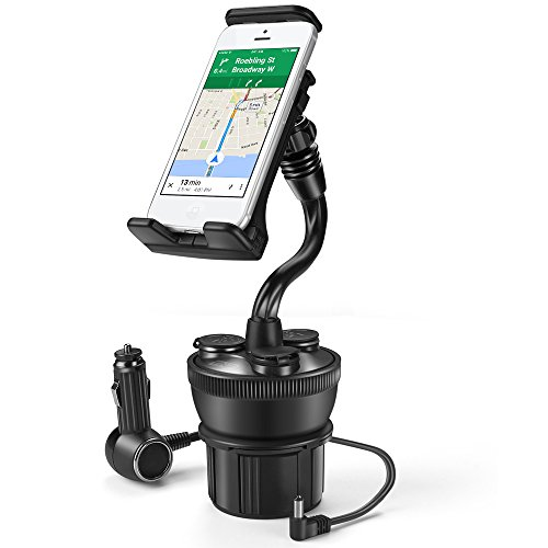 car usb charger cup holder - 9