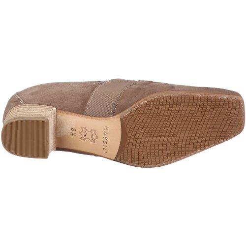 Hassia Bologna, Weite H 1-302962-2900 - Zapatos de vestir de ante para mujer Marrón