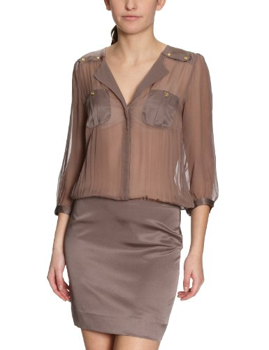 Designers Damen Mini Kleid 672 Remix Braun N42242002 rCF8rw