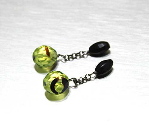 Green Handmade Cufflinks - 7