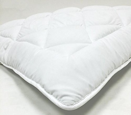 Bed-in-a-Bag Queen Waterbed - Down Alternative Mattress Pad/Topper-Fully Reversible (Double Life)-1