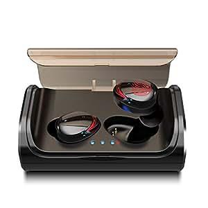 Arbily Auriculares Bluetooth Auriculares Inal 225 Mbricos
