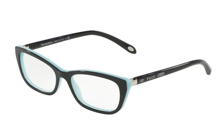 Amazon.com: Tiffany 0TF2136-8055 BLACK/BLUE-51mm: Clothing