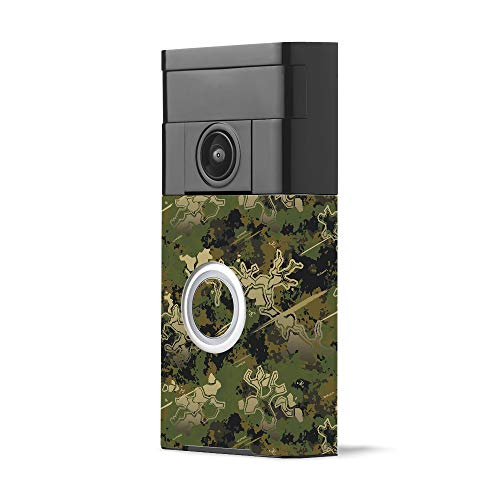 MightySkins Skin for Ring Video Doorbell - Viper Woodland for sale  Delivered anywhere in Canada