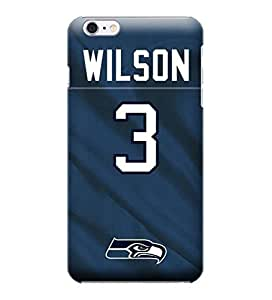 Case Cover For Apple Iphone 6 Plus 5.5 Inch NFL Russell Wilson Seattle Seahawks Case Cover For Apple Iphone 6 Plus 5.5 Inch High Quality PC Case