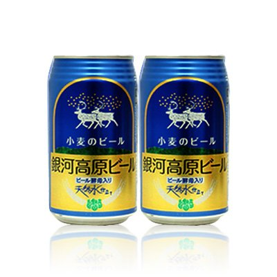 銀河高原 小麦のビール350ml(24本入)×2ケース 銀河高原ビール(岩手県)  B00B3D4H6G