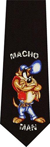 Taz Macho Man Looney Tunes New Novelty Necktie ()