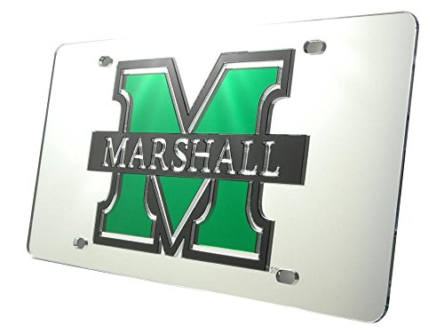 WinCraft Marshall University S08631 Acrylic Classic License Plates ()
