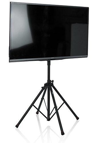 Gator Frameworks Standard Adjustable Quadpod LCD/LED TV Monitor stand for Screens up to 65 (GFW-AV-LCD-15)