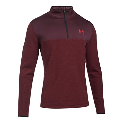 Men's Under Armour CGI Survivor 1/4 Zip, Raisin Red, 4XL-T by Under Armour (Image #1)
