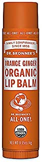 product image for Dr. Bronner's Magic Soaps Organic Lip Balm, Orange Ginger, 0.15 Ounce