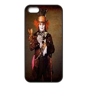iPhone 5, 5S Phone Case Alice in Wonderland P78K789249