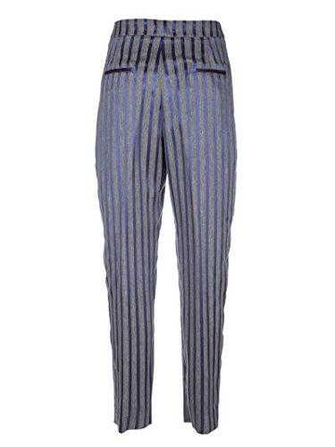 Peserico Pantaloni Donna P0401300690987 Viscosa Grigio