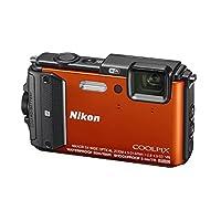 Nikon - Coolpix AW130 16.0-Megapixel Waterproof Digital Camera - Orange by Nikon