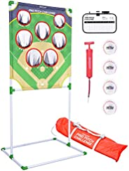 GoSports Football & Baseball Toss Games Available in Football Red Zone Challenge or Baseball Pro Pitch Cha