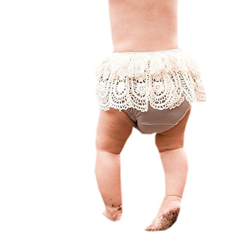 Newborn Baby Shorts, TRENDINAO Newborn Baby Toddler Infant Babys Tassel Girls Ruffle Bloomers Diaper Cover Pants (12 Months(Height:80CM), (Halloween Costume Ideas Gold Pants)