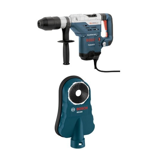 Bosch 11264EVS 1-5/8 SDS-Max Combination Hammer with SDS-Max HDC200 Dust Collection Attachment by Bosch