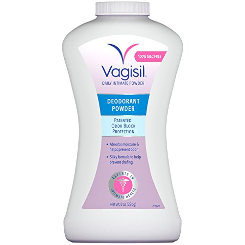 Vagisil Odor Block Deodorant Powder, Talc-Free, 8 Ounce