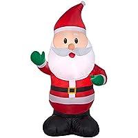 Holiday Time 4 ft. Inflatable Waving Santa
