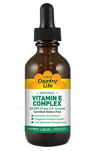 Country Life - Natural Vitamin E Complex Liquid - 20,000 IU,
