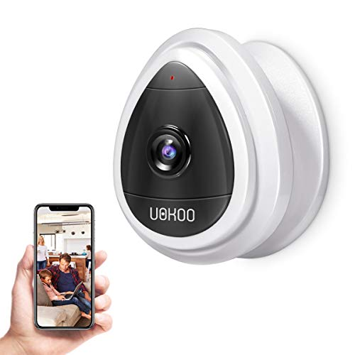 Security Camera, UOKOO Wi-Fi Wireless Security Smart IP Camera Surveillance System Remote Monitoring with Motion Email Alert/Remote Monitoring for Pet Baby Elder Pet Nanny Monitor