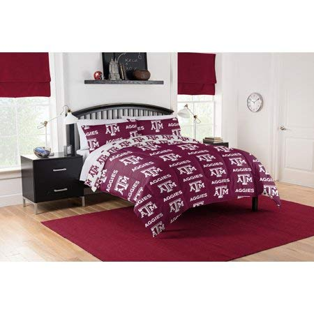 Official Texas A&M Aggies Queen Bed in Bag Set