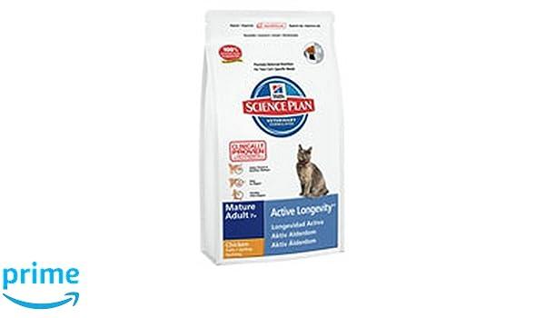 Hills Feline Mature Adult Chicken Comida para Gatos - 10000 gr: Amazon.es: Productos para mascotas