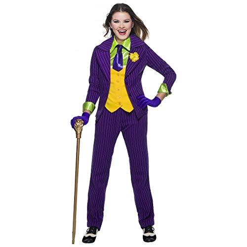 Tftw Female Joker Costume Adult Halloween Fancy -