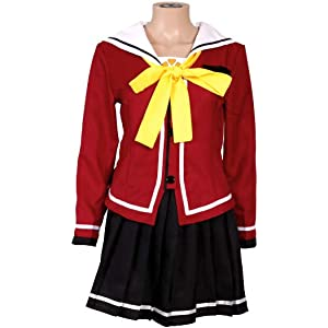Women's Costumes Costumes & Accessories Smart New Anime Charlotte Nao Tomori Red School Uniform Cosplay Costume