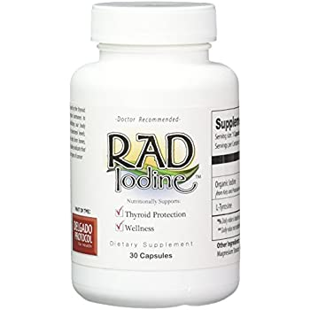 Amazon.com: RAD Yodo – Organic Raw tiroides Support, Mejorar ...