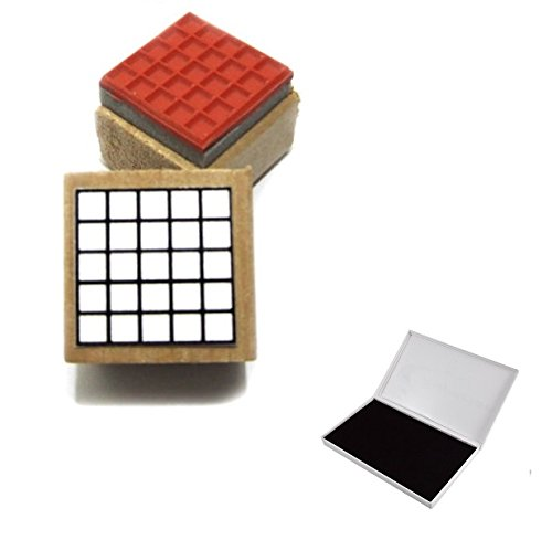 Guitar Chord and Fingering Rubber Stamp and Pad