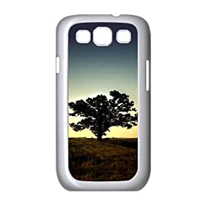 Samsung Galaxy S3 Cases Sunset Tree 05 for Teen Girls, Samsung Galaxy S3 Case Case for Teen Girls [White]
